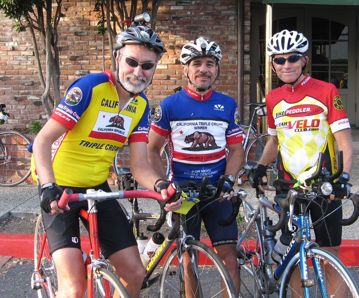 Ken, Joe and Franz after Solvang Double